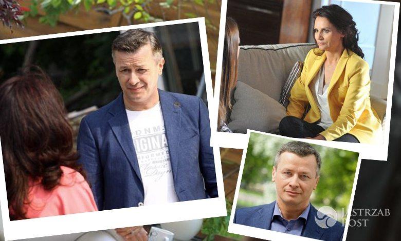 M jak miłość, Aleksandra (Małgorzata Pieczyńska), Grzegorz (Wojciech Majchrzak)