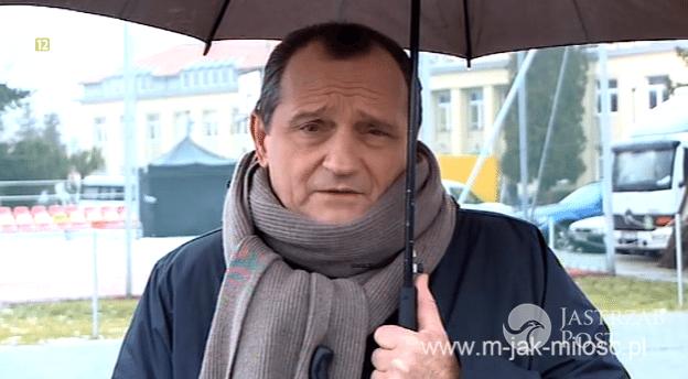 """Wojciech Wysocki jako Górecki w """"M jak miłość"""", fot: mjakmilosc.tvp.pl"""