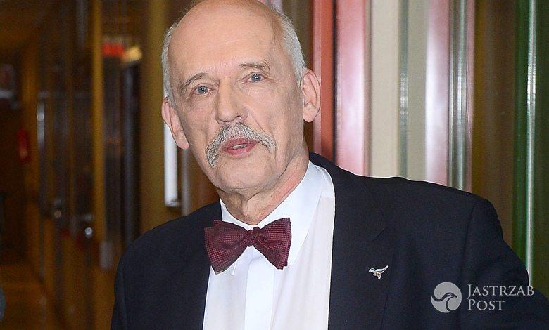 Janusz Korwin-Mikke zamachy w Brukseli
