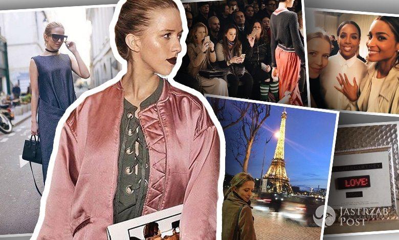 Jessica Mercedes na Paris Fashion Week (fot. Instagram)