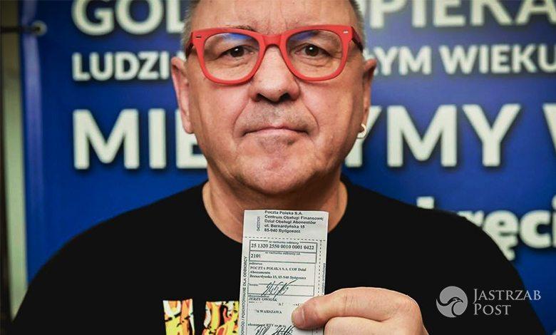 Jerzy Owsiak walczy z cenzurą z TVP. Napisał lis do szefa TVP2
