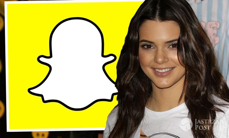 Kendall Jenner na SnapChacie