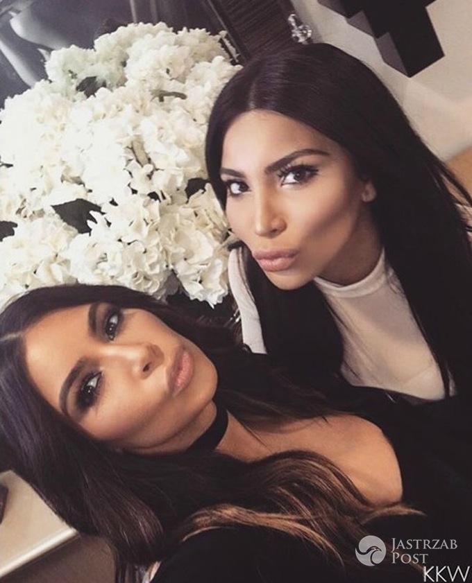 Kim Kardashian i Kamilla Osman - jej sobowtór