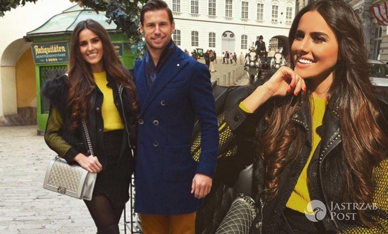 Celia Jaunat i Grzegorz Krychowiak spędzają Wielkanoc we Wiedniu