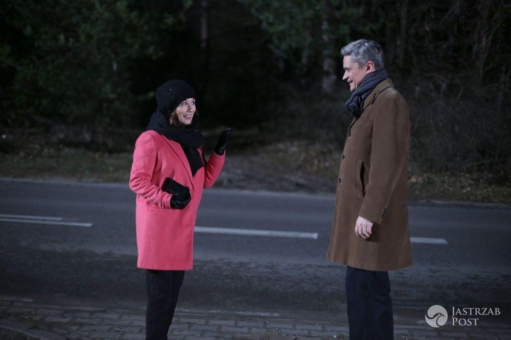 M jak miłość odc 1209, Zuza (Jolanta Fraszyńska), Wiktor (Piotr Grabowski), fot: MTL Maxfilm