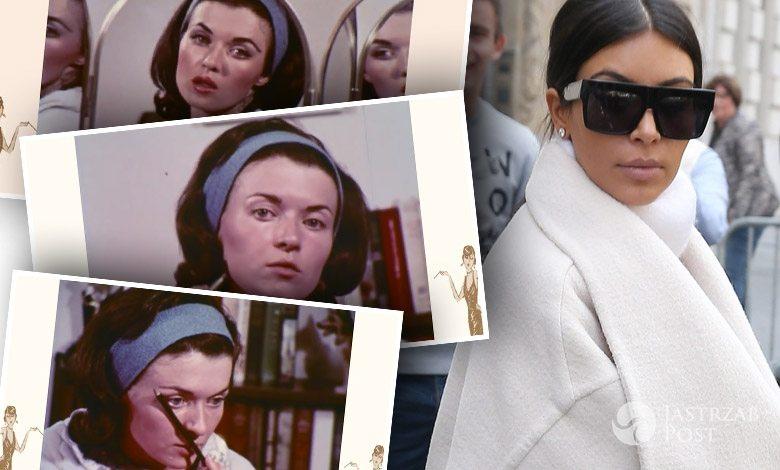 Makijaż retro w stylu lat 60.