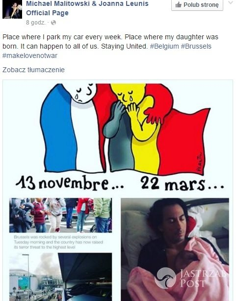 Michał Malitowski o zamachach w Brukseli