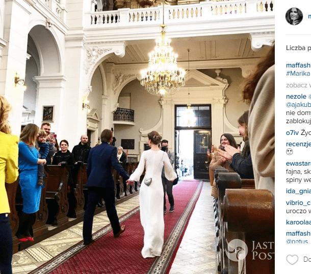 Marika wzięła ślub