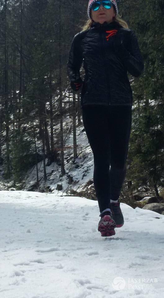 Monika Olejnik biega w Wielkanoc