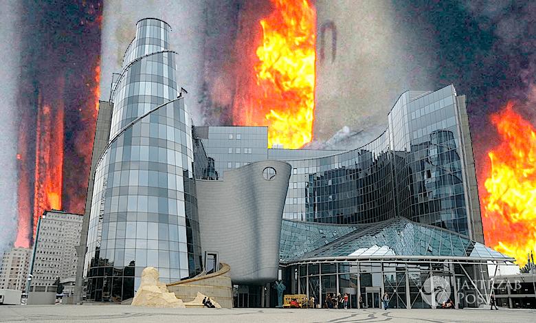 Pożar w TVP. Płonie studio Pytania na śniadanie