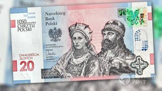 Nowy banknot 20 zł fot. NBP