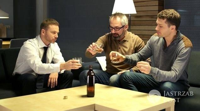 M jak miłość odcinek 1206, Tomek (Andrzej Budzyński), Adam (Jacek Kopczyński), Andrzej (Krystian Wieczorek)