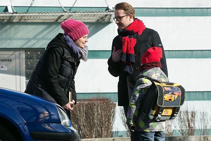 Singielka odcinek 123, Elka (Paulina Chruściel), Konrad (Paweł Ciołkosz), fot: x-news