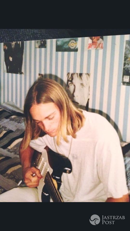 Mateusz Gessler pochwalił się zdjęciem sprzed 20 lat