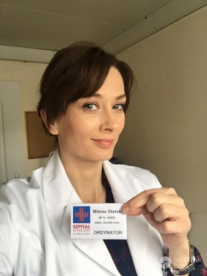 Nowe odcinki Na dobre i na złe, Lena Starska (Anita Sokołowska)