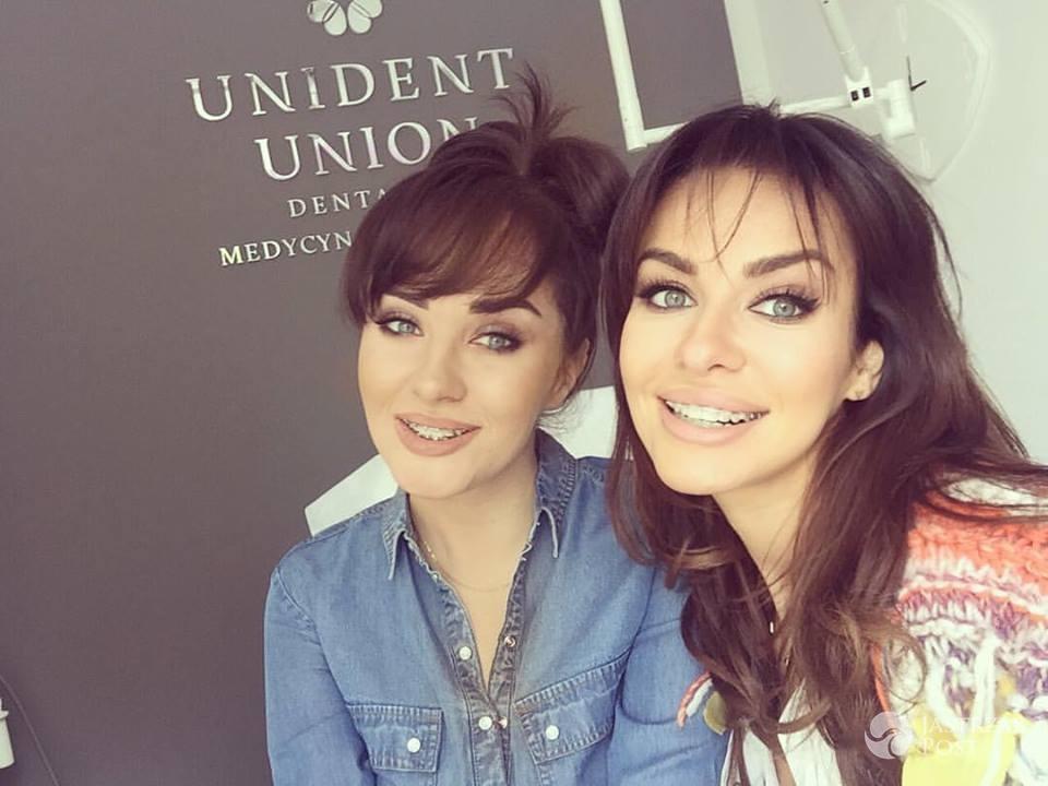 Natalia Siwiec i Malwina Siwiec mają aparaty ortodontyczne