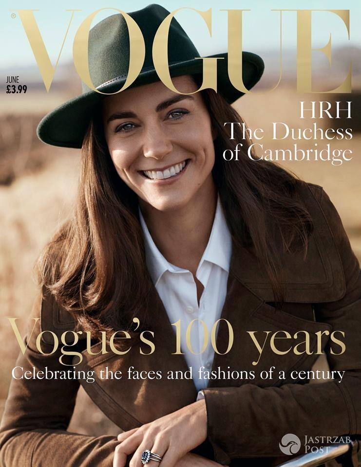 Księżna Kate w brytyjskim Vogue