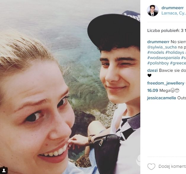 Adam Boguta z Top Model pokazał dziewczynę zdjęcia