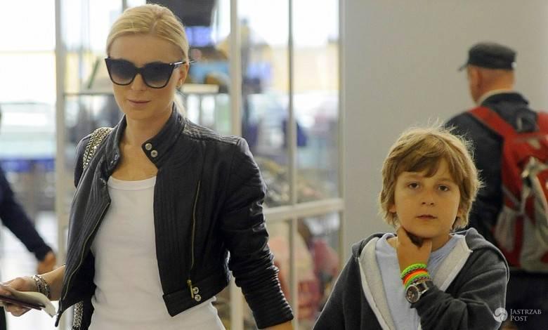 Halina Mlynkova nagrywa piosenkę z synem