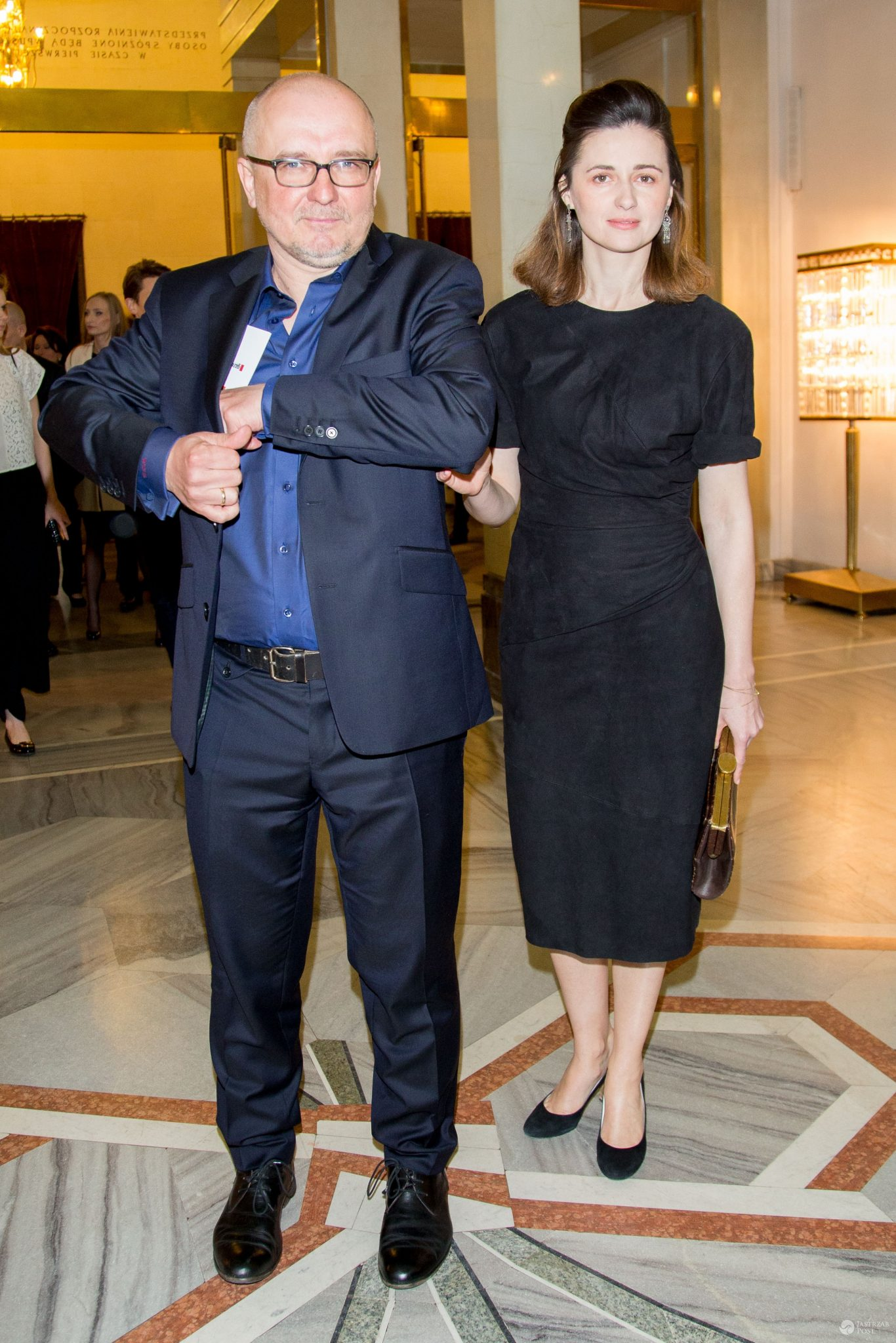 Agnieszka Grochowska jest w drugiej ciąży. Na zdjęciu z mężem Dariuszem Gajewskim