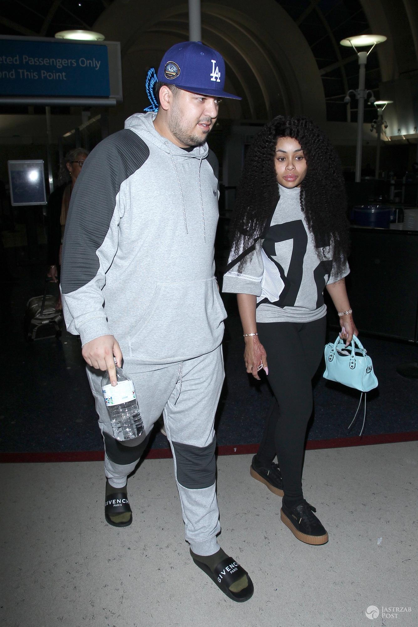 Rob Kardashian i Blac Chyna chwalą się córką Dream