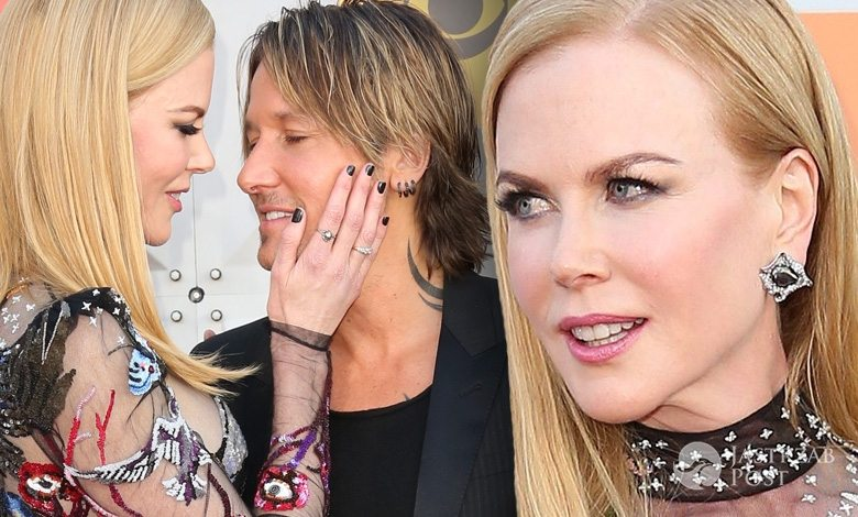 Nicole Kidman i Keith Urban, Country Music Awards 2016 (fot. ONS)