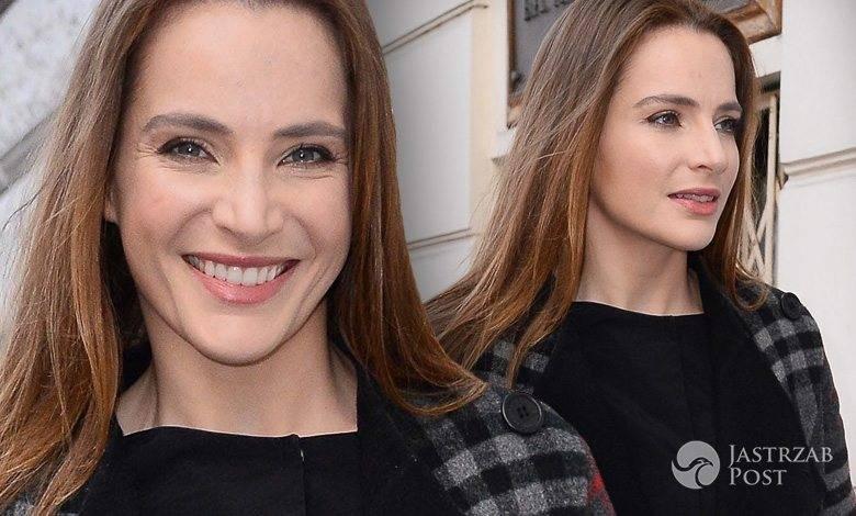 Anna Dereszowska na otwarciu nowej pracowni Anny Krzyżanowskiej (fot. ONS)
