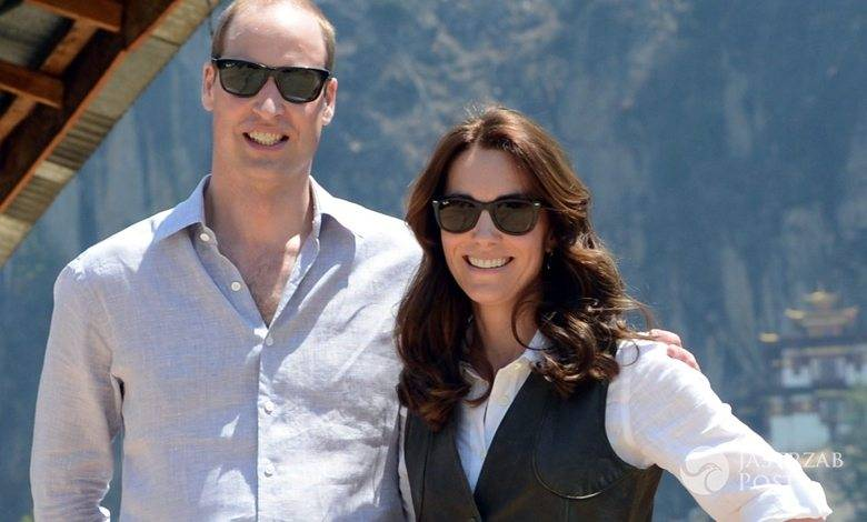 Księżna Kate i książę William odwiedzili klasztor Taktsang (Tygrysie Gniazdo) znajdujący się niedaleko miasta Paro w Bhutanie (fot. ONS)