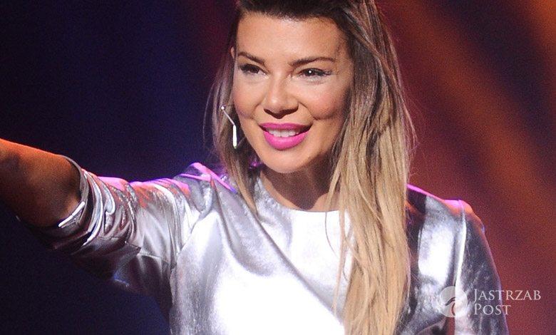 Edyta Górniak w sukience Muses na koncercie w Olsztynie (fot. ONS)