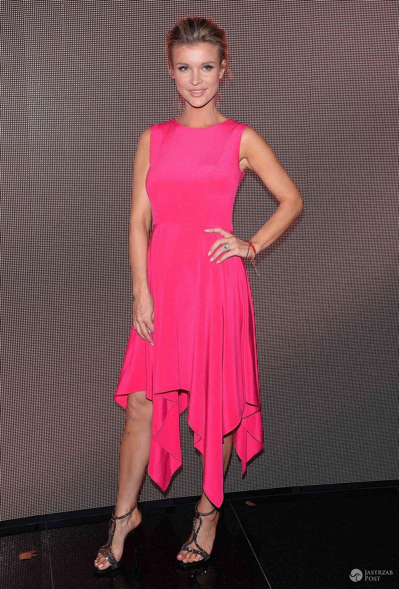Joanna Krupa na imprezie Magnum w sukience od Bohoboco (fot. ONS)