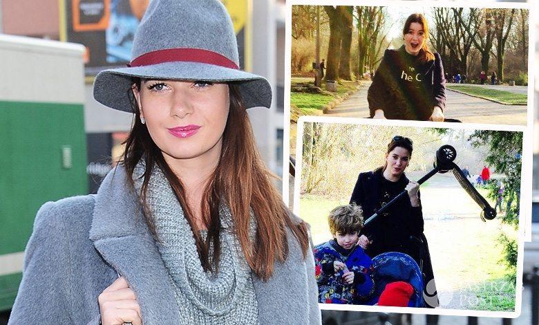 Karolina Malinowska spędza pierwsze dni wiosny z dziećmi
