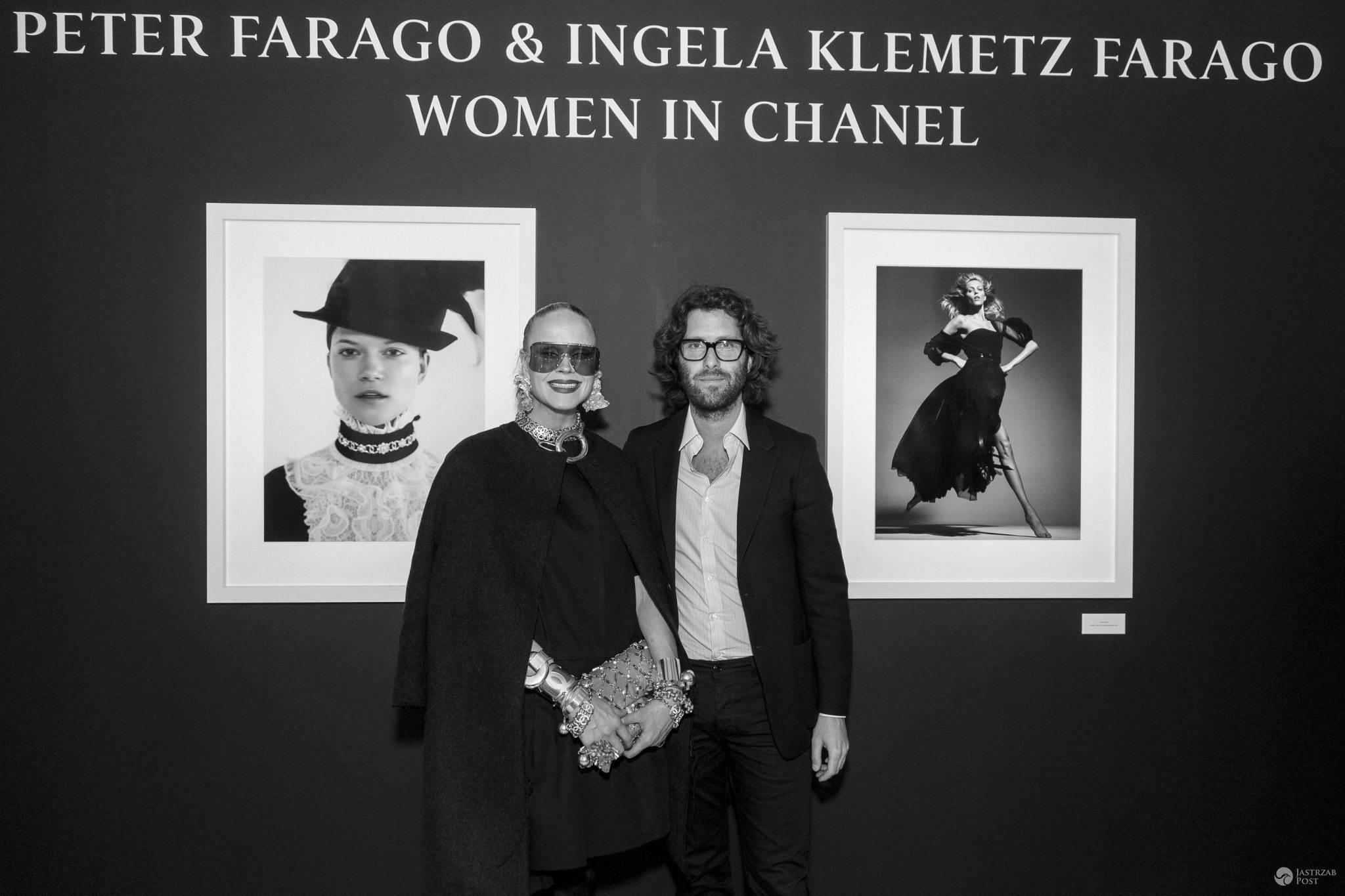 "Autorzy zdjęć ""Women in Chanel"" Ingela Klemetz Farago i Peter Farago (fot. mat. pras.)"