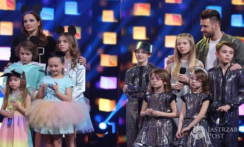 Kadra Anki i Hyżaki w finale programu Mali Giganci 2 fot. Facebook.com/MaliGiganciTVN
