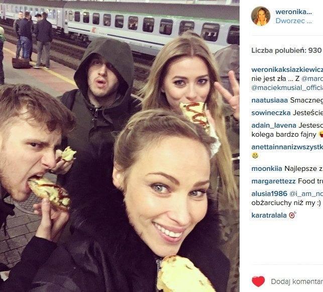 Weronika Książkiewicz (fot. Instagram)