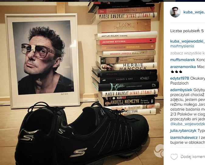 Kuba Wojewódzki pokazał mieszkanie na Instagramie