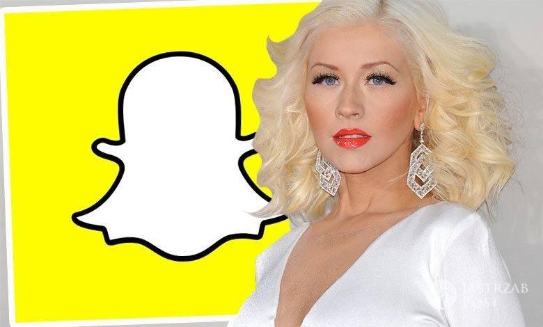 Christina Aguilera założyła SnapChata