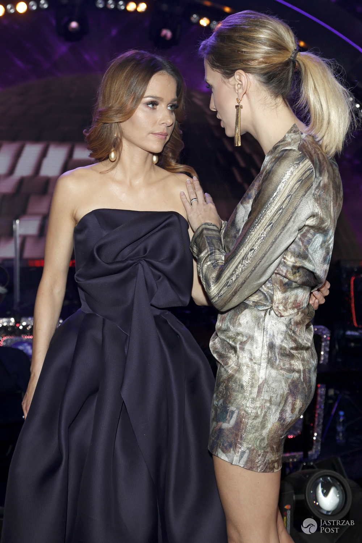 Paulina Sykut-Jeżyna i Agnieszka Hyży założyły identyczny szpilki