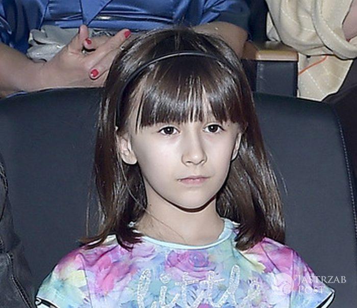 Vivienne Vienna, córka Michała Wiśniewskiego na pokazie Teresy Kopias (fot. AKPA)