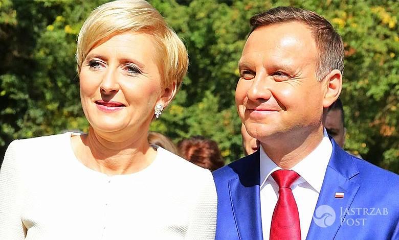 Andrzej Duda o żonie Agacie