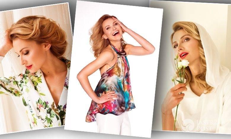 Joanna Moro twarzą kolekcji Teresy Kopias wiosna-lato 2016