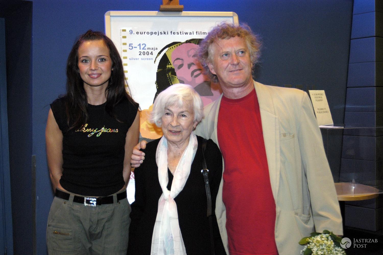 Anna Przybylska z Radosławem Piwowarskim