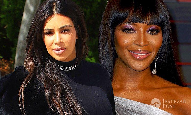 Kim Kardashian i Naomi Campbell się przyjaźnią