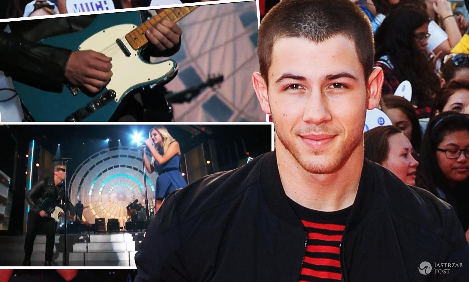 Nick Jonas najgorsza solówka na gitarze