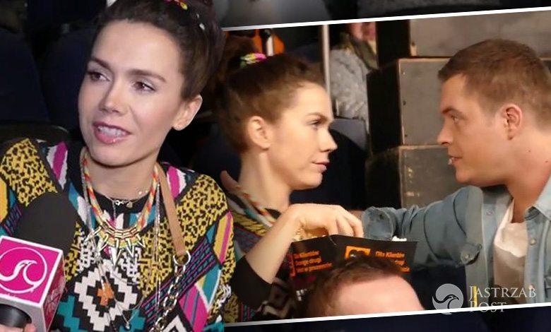 Olga Bołądź i Tomasz Schuchardt na planie reklamy Orange