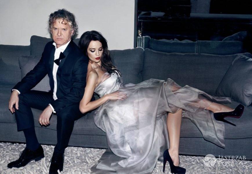 Radosław Piwowarski i Anna Przybylska w sesji dla magazynu Gala