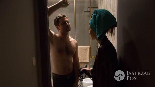 Na dobre i na złe odcinek 633, Adam (Grzegorz Daukszewicz), Wiktoria (Katarzyna Dąbrowska)