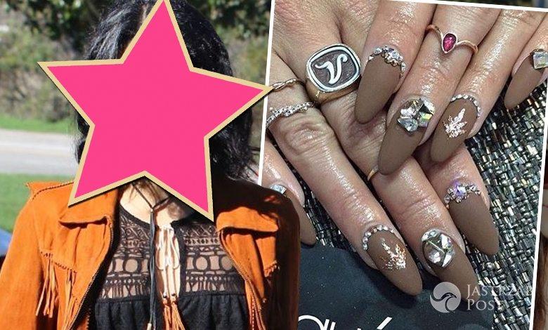 Manicure Vanessy Hudgens na festiwalu Coachella 2016
