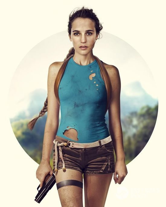 Alicia Vikander jako Lara Croft - grafika fana