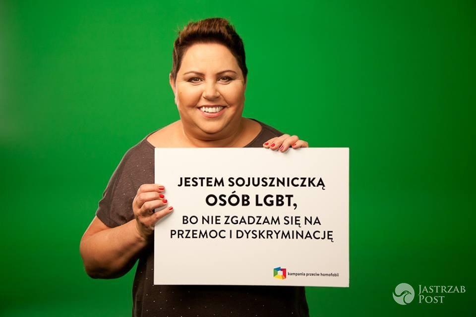 Dorota Wellman wspiera osoby LGBT