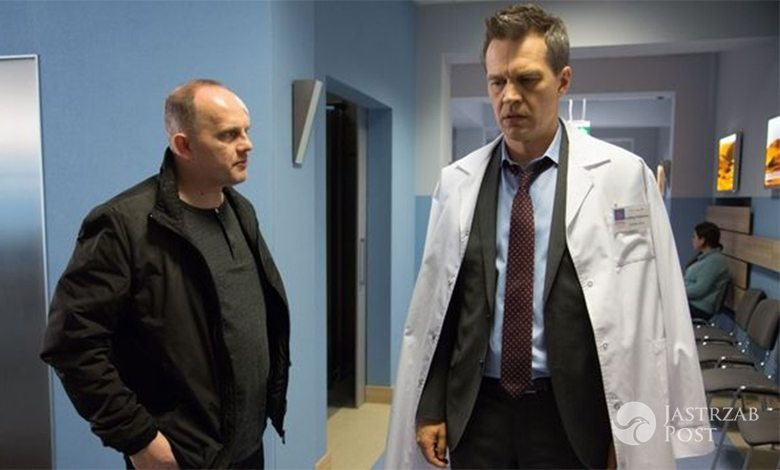 Na dobre i na złe odcinek 639, Falkowicz (Michał Żebrowski) szuka Matyldy (Amelia Czaja)